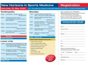 New Horizons in Sports Medicine Inside